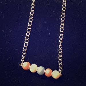 Jewelry - Bar birthstone necklace